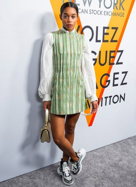 Laura-Harrier-Louis-Vuitton-Sneakers-446x612